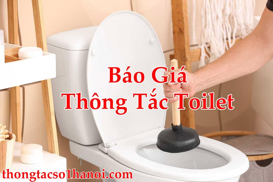 Báo Giá Thông Tắc Toilet