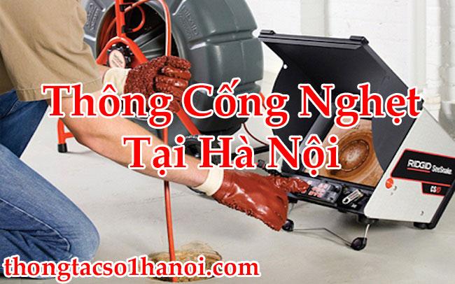 Thông Cống Nghẹt Tại Hà Nội