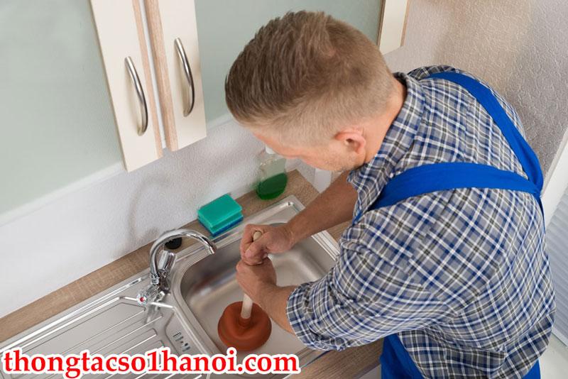 Thông Tắc Bồn Rửa Bát