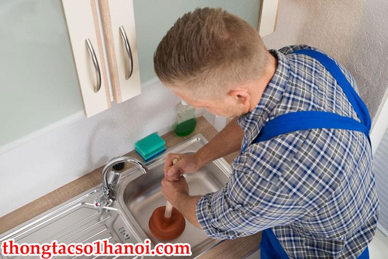 Thông Tắc Chậu Rửa