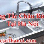 Thông Tắc Bồn Rửa Bát Tại Hà Nội