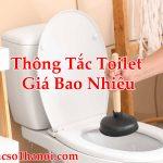 Thông Tắc Toilet Giá Bao Nhiêu Chính Xác Đảm Bảo Uy Tín Hút Sạch 100%