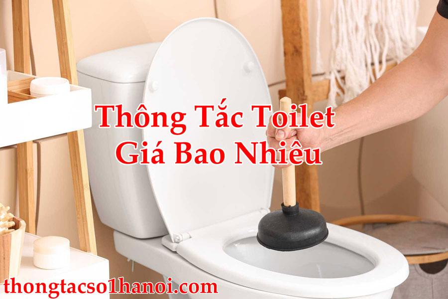Thông Tắc Toilet Giá Bao Nhiêu