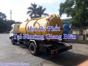 Hút Bể Phốt Tại Phường Giang